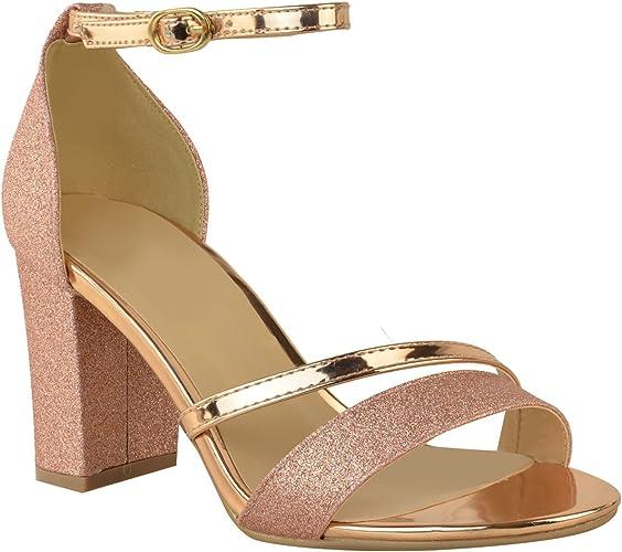 best selling best website autumn shoes Amazon.com   Fashion Thirsty Womens Low Block Heel Diamante ...