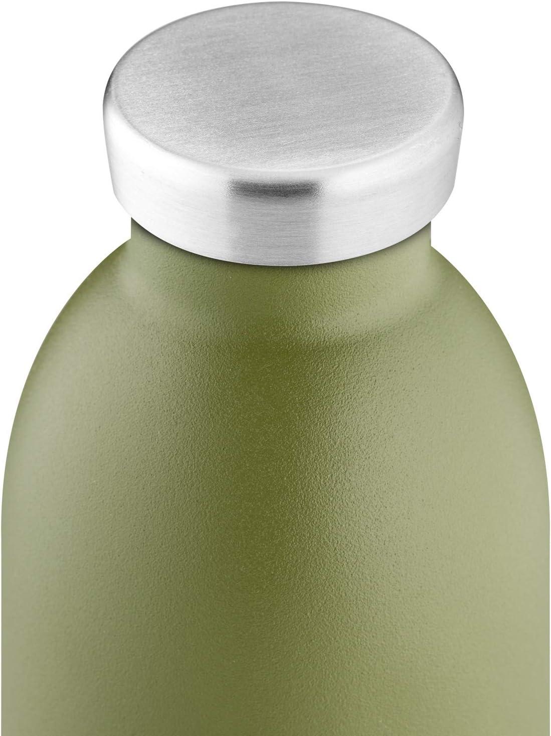 17 oz Verde/Salvia 17 oz 921834 24 Botellas Clima Botella de Acero Inoxidable aislada Reutilizable sin BPA Caliente fr/ío Moderno Doble Pared Thermoses Viaje Oficina Botella de Agua