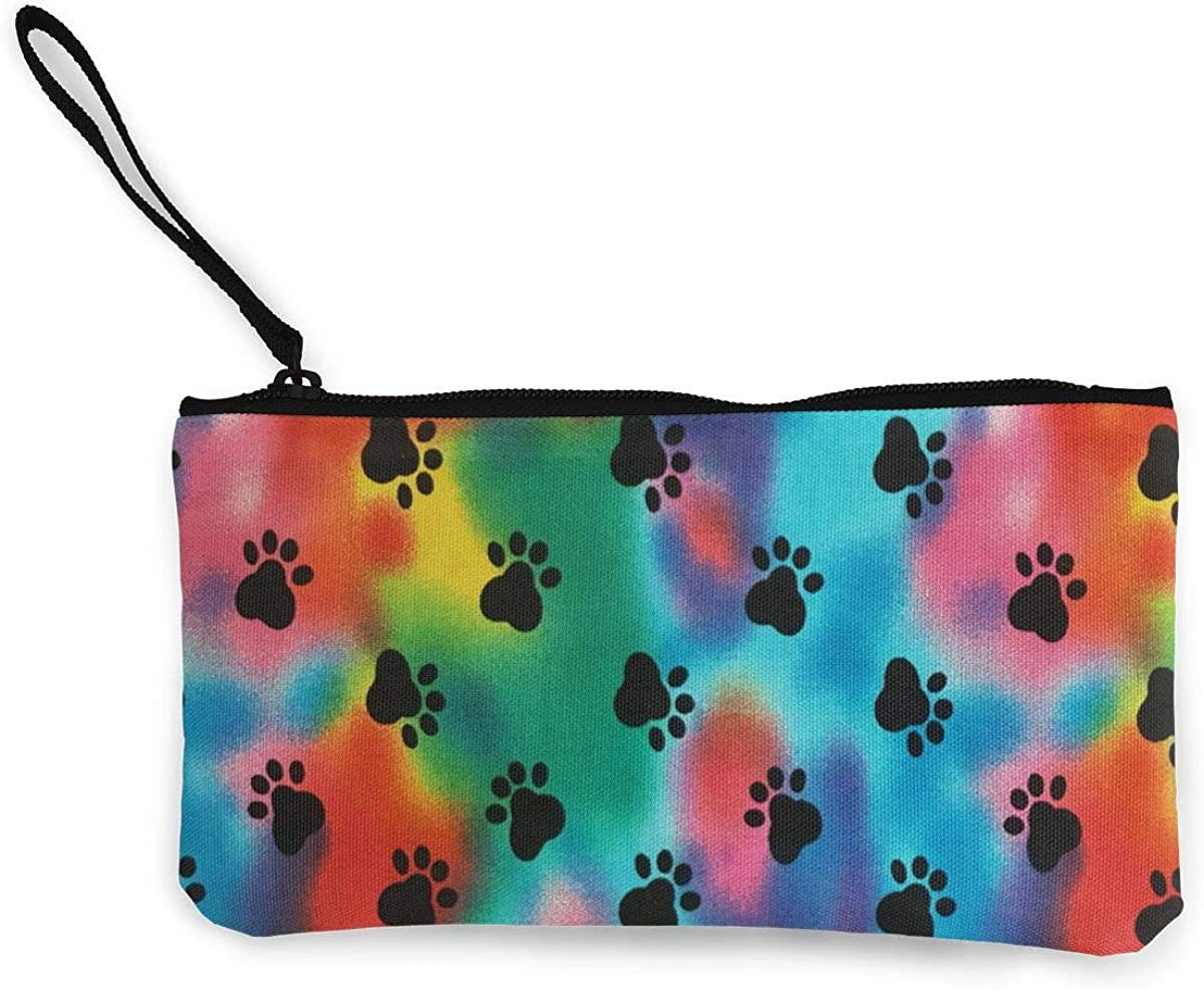 Coin Purse Paw Dog Fastener...