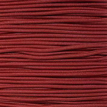 Elastic Stretch Rope for Custom Bungee Lengths Tan, 25 Feet Golberg 1//8 Inch Diameter Shock Cord