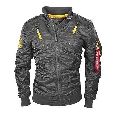 Alpha Industries Men s Falcon II Jacket  Amazon.co.uk  Clothing fb3efcd553