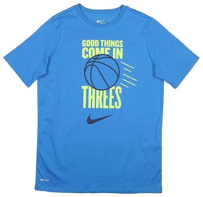 c17f068bbb Nike Big Boys Dri-Fit Just Do It Basketball T-Shirt: Amazon.ca ...