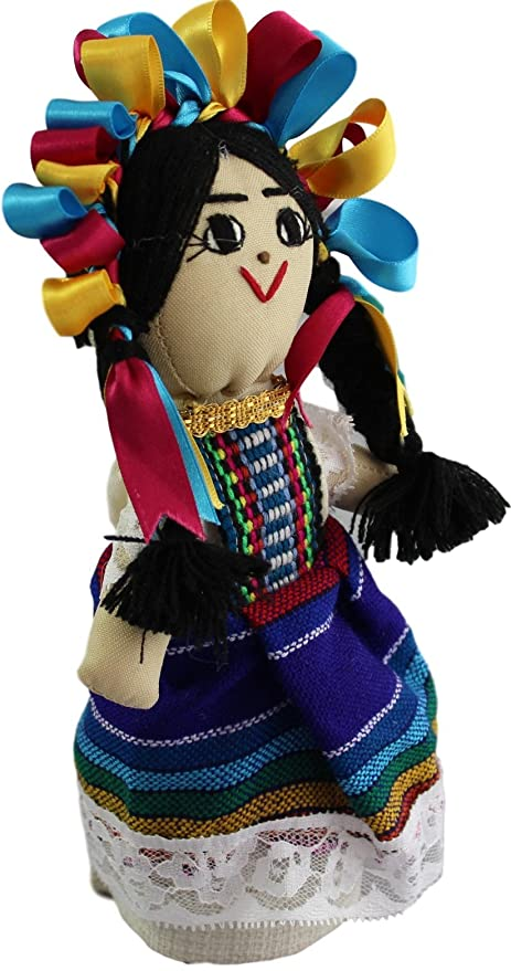 Amazon.com: Handmade Traditional Mexican Dolls Made in Mexico (Choose Your Design) (9