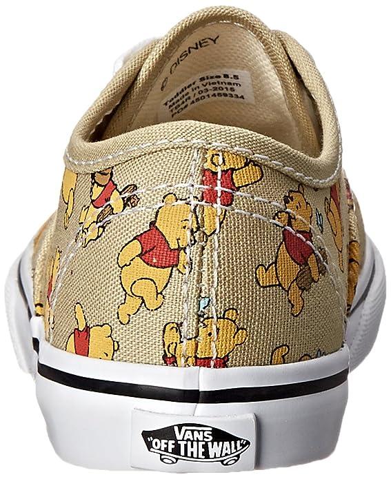 ac4e6d4590e92d Amazon.com  Vans Unisex Disney Infant Shoes Winnie The Pooh Cute Sneakers  Size 10  Shoes