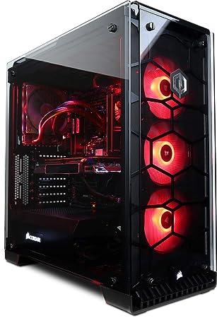 CyberpowerPC Luxe 2080 Gaming PC - Intel Core i7-9700K, Nvidia RTX 2080  8GB, 32GB RAM, Z370 Chipset, 480GB SSD, 2TB HDD, 650W 80+ PSU, Wifi, Liquid
