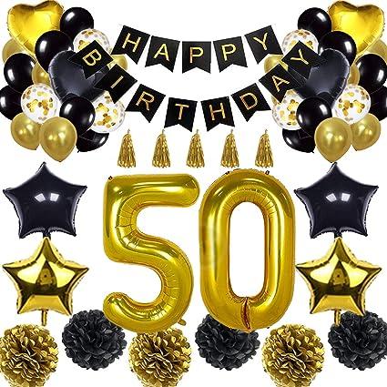 Amazon.com: Pancarta de globo para decoración de 50 ...
