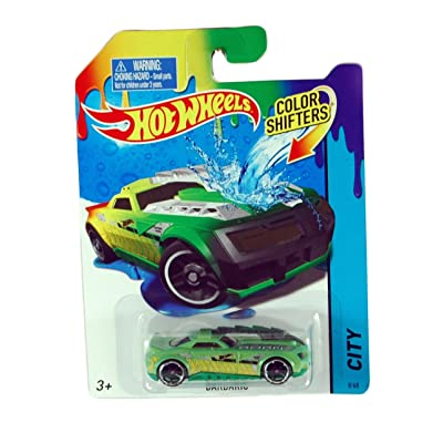Hot Wheels City Color Shifter Barbaric Car: Toys & Games