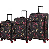 IT LUGGAGE The Lite - Anti Theft Luggage Set, Dark Floral