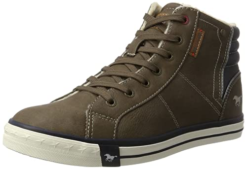 Mens 4103-601 Hi-Top Sneakers, Braun (Braun 3) Mustang
