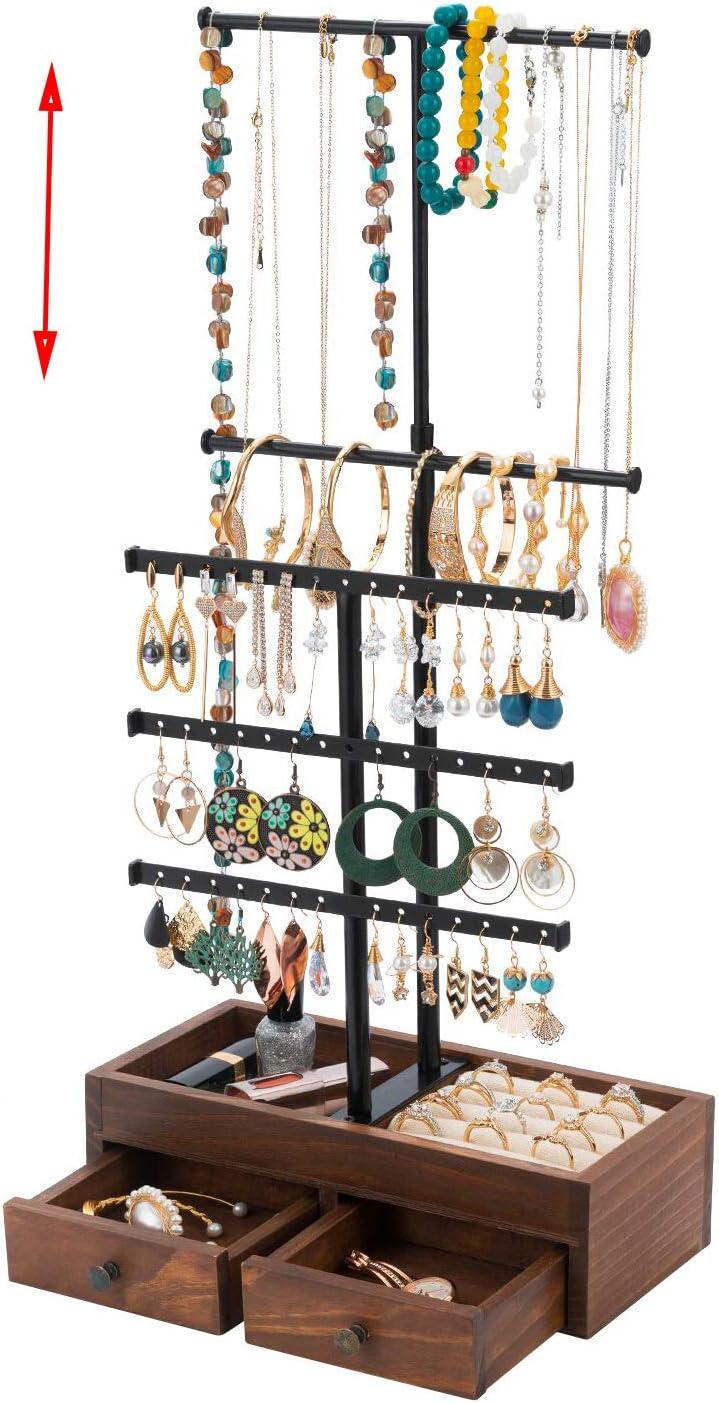 Earring Holder Wood Jewelry Stand Custom Jewelry Dish,Jewelry Tree--JSA-GEO-Beautiful Personalized Jewelry Display Acrylic Jewelry Stand