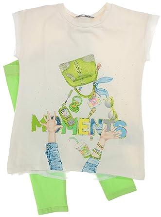 MAYORAL 2-teiliges Mädchen-Set Shorts und T-Shirt