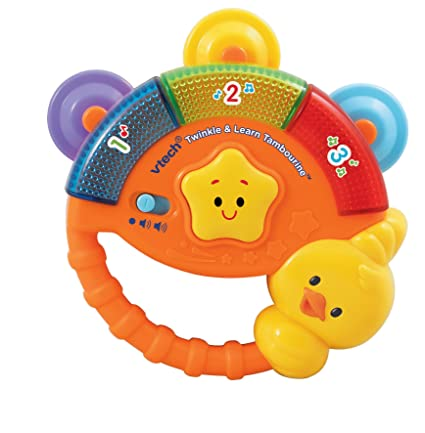 vtech baby  : VTech Baby Twinkle and Learn Tambourine: Toys & Games