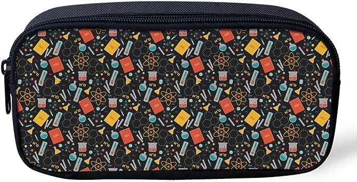 L x4.33 inch W x1.77 inch H Math 1 Coloranimal Children Trousse /à crayons Motif infirmi/ère 8.66 inch