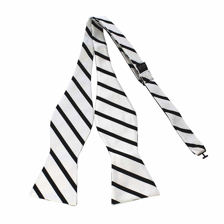 JEMYGINS Original Men Bow Tie Silk Self bowtie & Square Hanky Set AG11