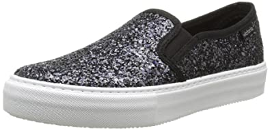 Amazon.com | Victoria Unisex Adults Slip on Glitter Low-Top Sneakers | Fashion Sneakers