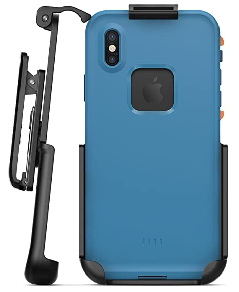 huge discount bb5b1 3a15d Encased Belt Clip Holster Compatible with Lifeproof Fre Case - iPhone Xs  5.8
