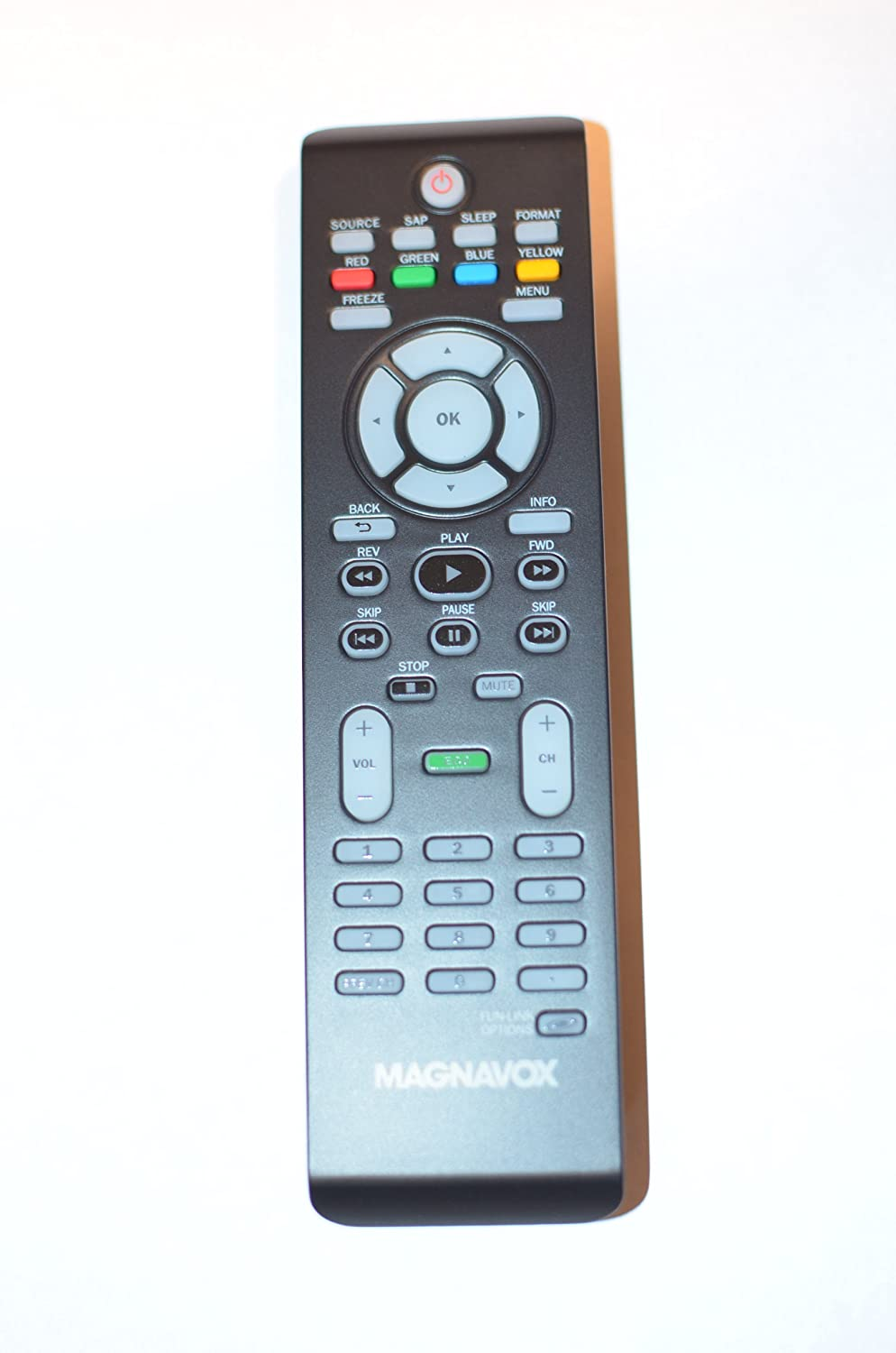 Magnavox LCD TV Remote Control NF804UD NF805UD Supplied with models: 19ME360B 19MF330B 22ME360B 22MF330B 26MF330B 32MF330B 40MF4