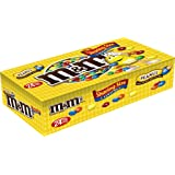 M&M'S Peanut Chocolate Candy Sharing Size 3.27-Ounce Pouch 24-Count Box
