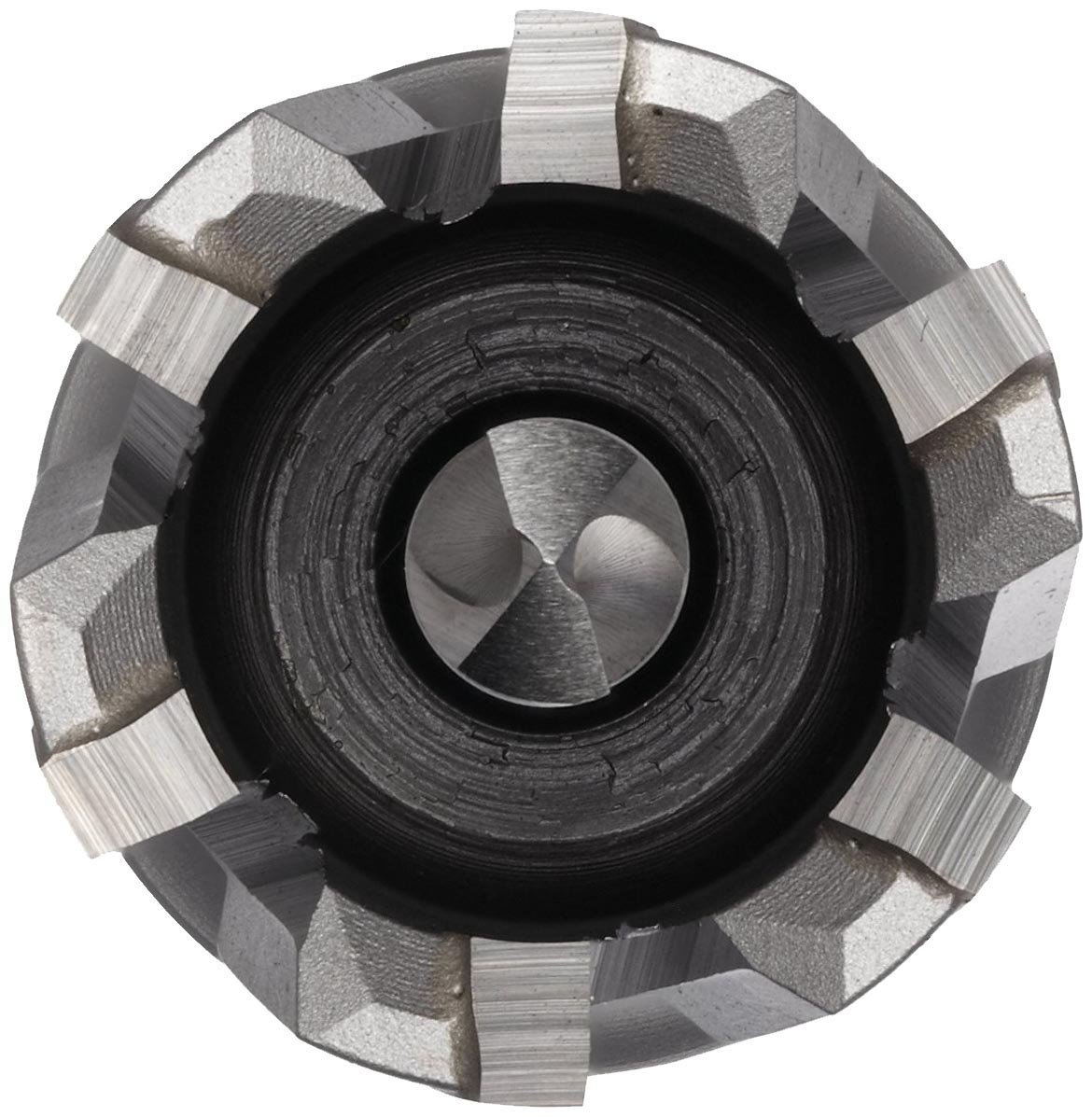 Bright Uncoated Jancy Slugger Carbide-Tipped Annular Cutter 1-1//8  Diameter 1 Depth 1//2 Shank with Flats Finish