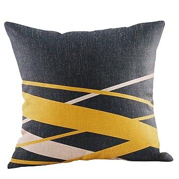 Goosuny Senfgelbe Kissenbezüge Kissenbezug Geometrisch Schöne Zierkissen Herbst Dekorativ Deko Kissenhüllen Flauschige Couch Kissen Kopfkissenbezüge