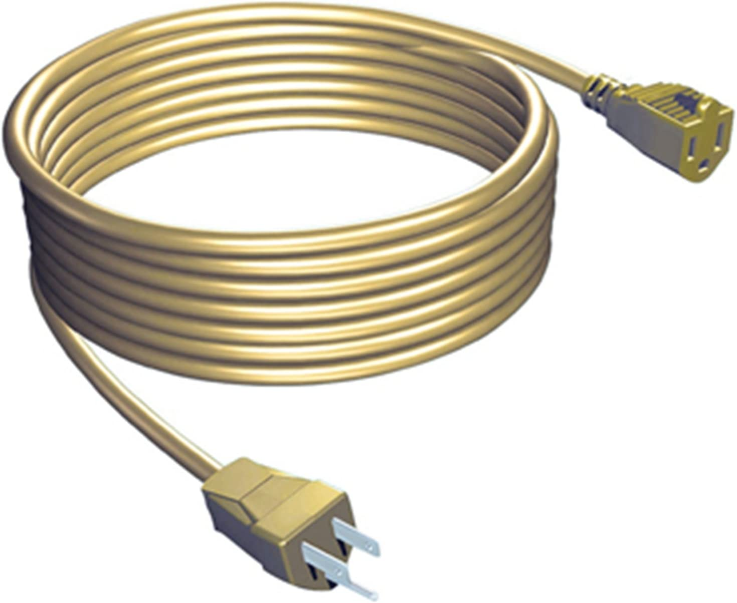 Stanley 33405 Grounded Outdoor Extension Power Cord, 40-Feet, Beige