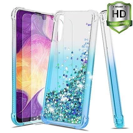 Amazon.com: Tmacker - Carcasa para Samsung Galaxy A50 (con ...