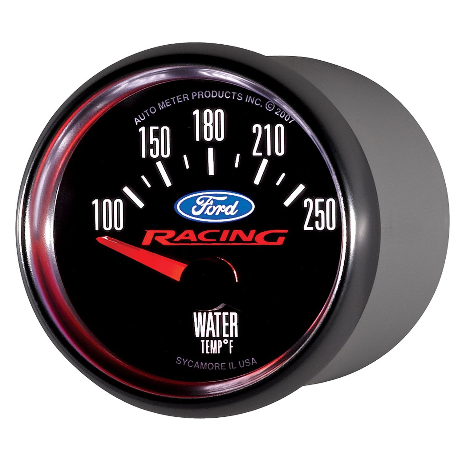 Auto Meter 880077 Ford Racing Series Electric Water Temperature Gauge by AUTO METER