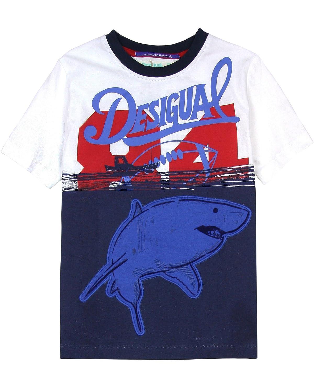 Desigual Boys T-Shirt Angel Sizes 4-14