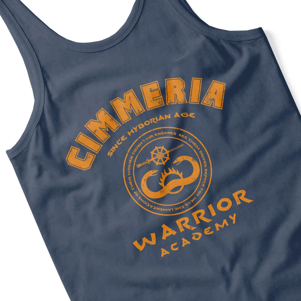 Cimmeria Warrior Academy Conan The Barbarian Mens Vest