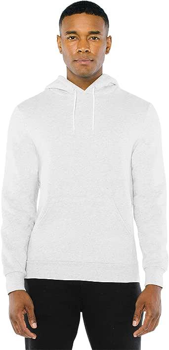 American Apparel unisex-adult Peppered Fleece Long Sleeve Pullover Hoodie