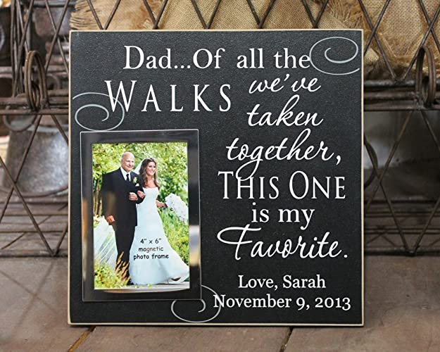 Amazoncom 12x12 Dad Of All The Walks Personalized Wedding Picture