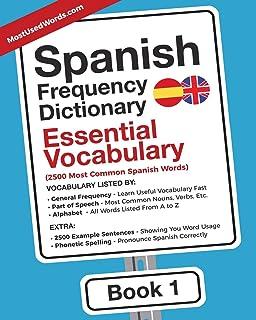 Amazon. Com: spanish frequency dictionary advanced vocabulary.