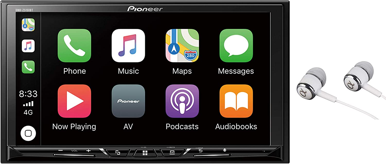 "Pioneer 7"" WVGA Display, Apple CarPlay, Android Auto, Built-in Bluetooth, AppRadio Mode, Pandora, Spotify, MIXTRAX, USB/AUX Digital Multimedia Video Receiver"