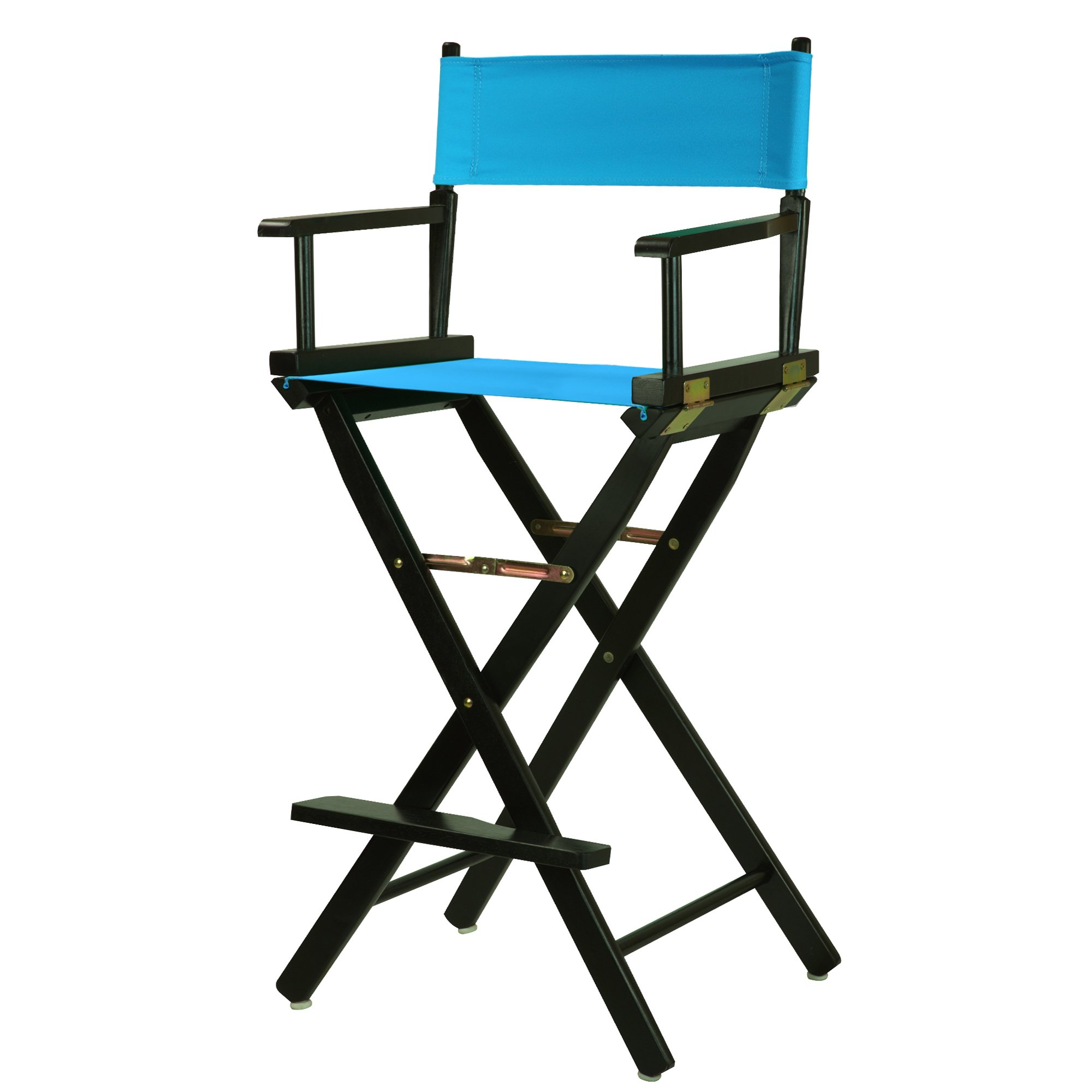 Casual Home 230-02/021-27 Director Chair, 30''-Bar Height, Turquoise