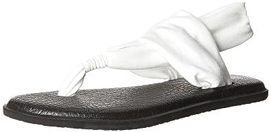 Sanuk - Women's Yoga Sling 2 Spectrum - Sandales taille 7, bleu