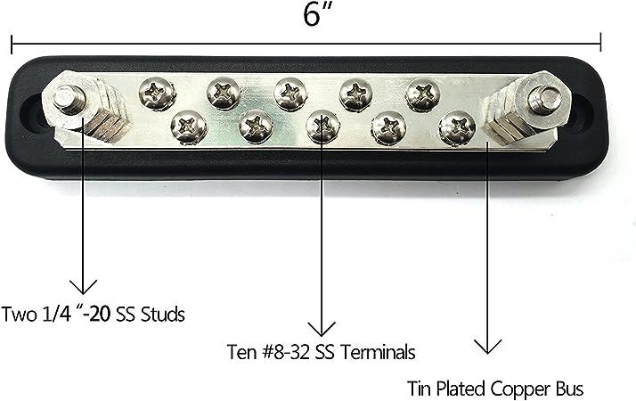 T Tocas 10 Terminal Allgemein 150a Busbars Elektronik
