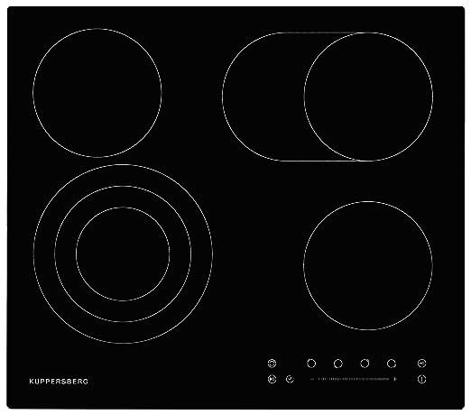 Kuppersberg - Placa de cocina eléctrica de 60 cm/Hi-Light ...
