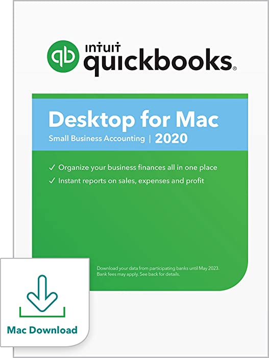 QuickBooks Desktopfor Mac 2020Accounting Software for Small Business withShortcut Guide [Mac Download]