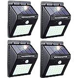 30 LED Solar Lights Outdoor,3 Optional Modes Wireless Waterproof Motion Sensor Outdoor Security Lights for Front Door…