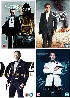 James Bond 007 Daniel Craig La Trilogie Casino Royale