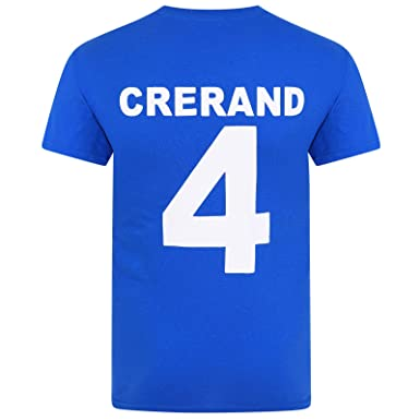 cheap for discount ae6c1 3d404 Football Legends Best & Charlton in Manchester United 1968 Retro Kit  T-Shirt Blue