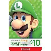 eCash - Nintendo eShop Gift Card $10 - Switch / Wii U / 3DS [Digital Code]