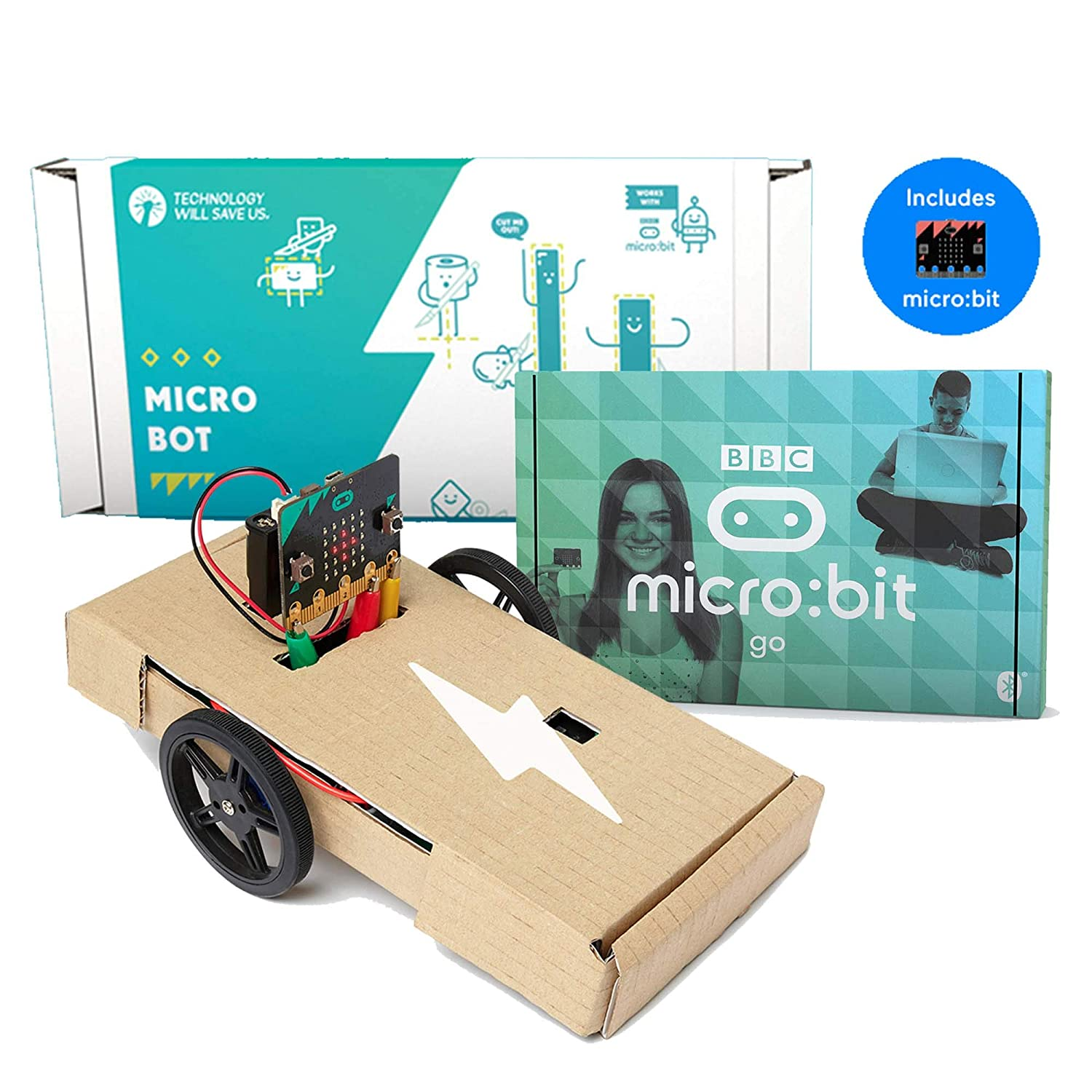 Tech Will Save Us, Micro:bot Pack | Coding games for kids, Ages 11 and up Technology Will Save Us TBUN_0117