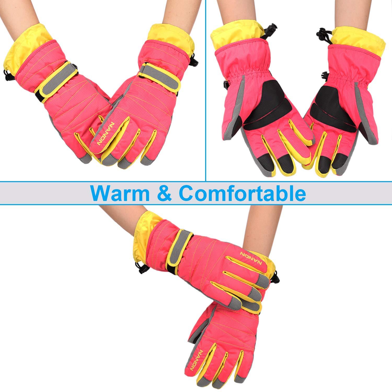MAGARROW Winter Gloves Warm Windproof Outdoor Sports Glove For Teenagers and Men Women