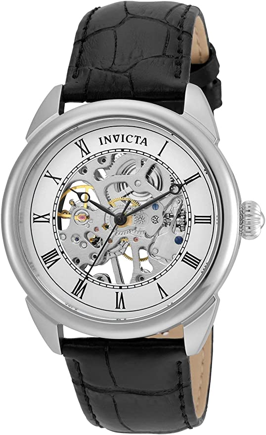 Invicta Men's Specialty 42mm Stainless Steel and Leather Mechanical Watch,  Black (Model: 23533)   Lazada PH