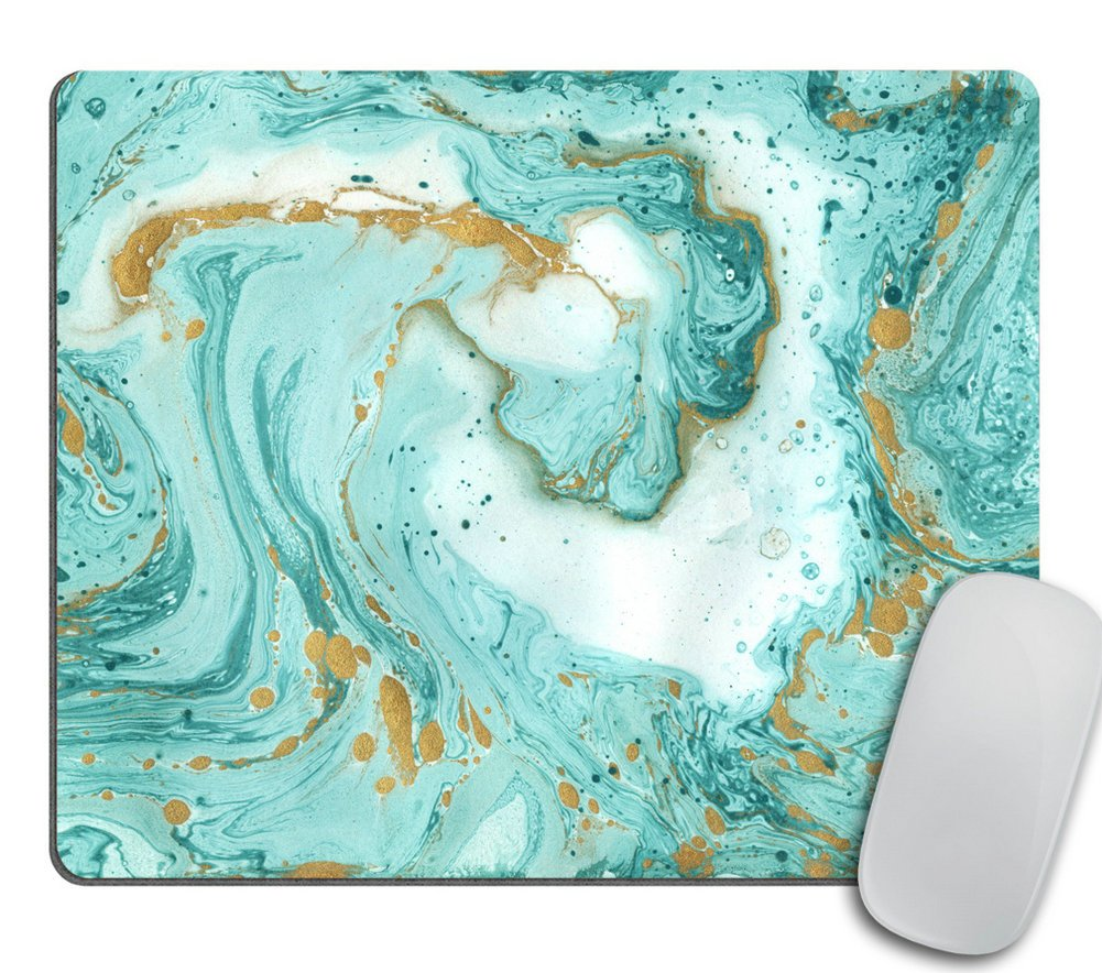 Marble Mousepad, Glitter Mousepad, Desk Decor, Office Accessories, Modern Mouse Pad, Personalized Mouse Pad, Rectangle Mousepad, Cubicle Decor