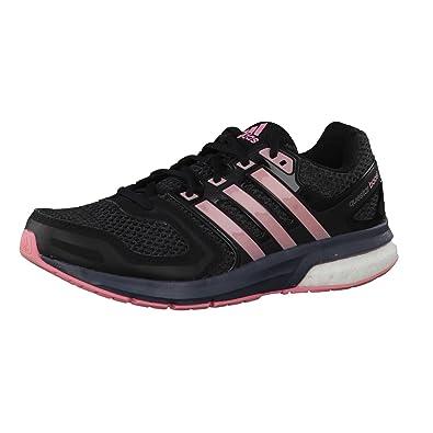 adidas Questar Boost W - Zapatillas para Mujer, Color Negro/Rosa/Gris, Talla 44 2/3: Amazon.es: Zapatos y complementos