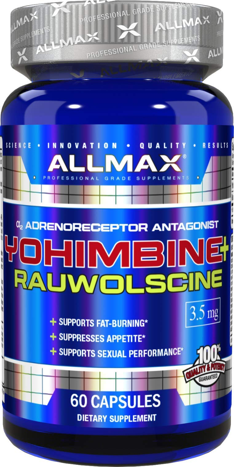 ALLMAX Nutrition Yohimbine + Rauwolscine, 60 Capsules