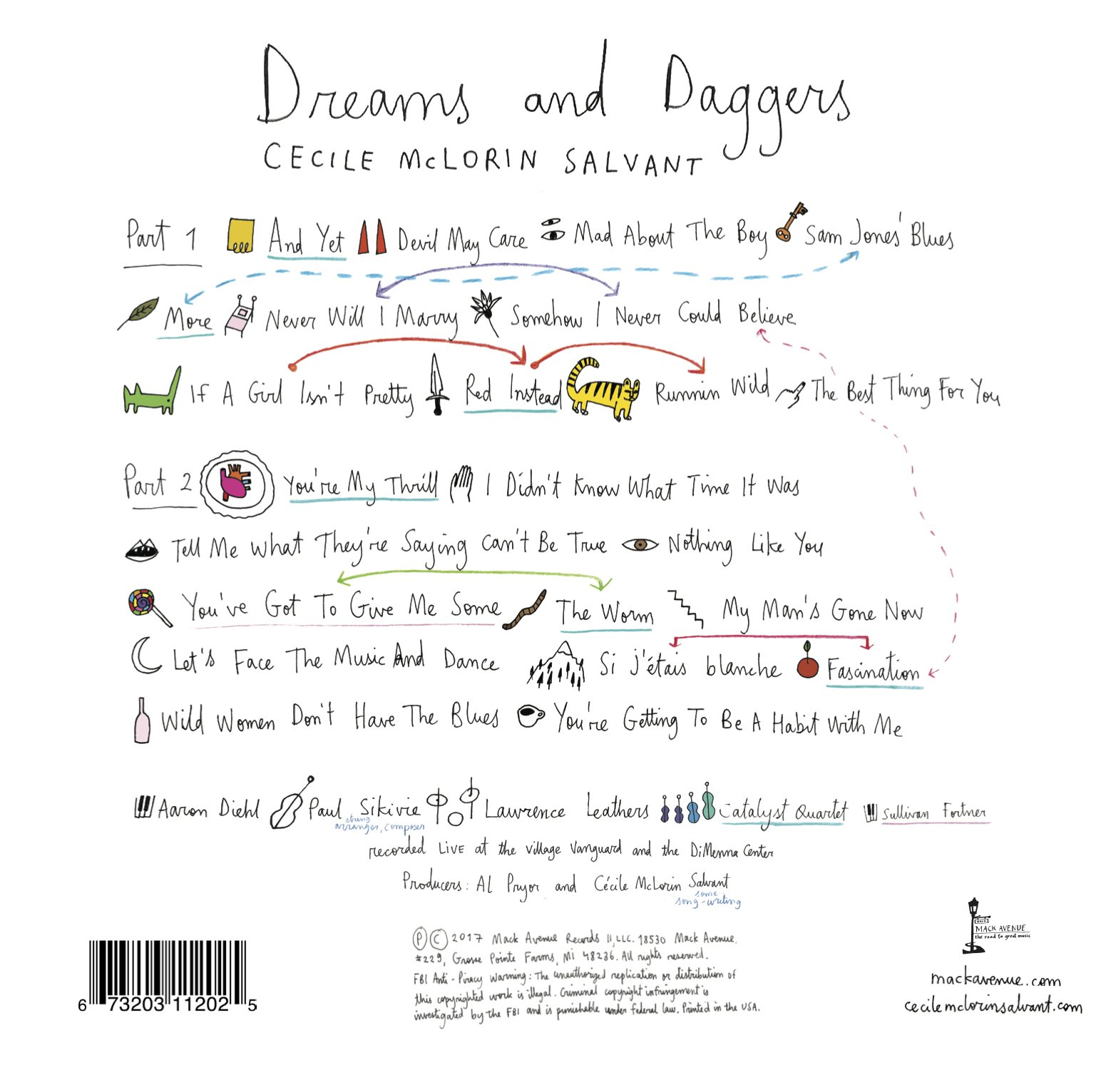 Dreams and Daggers - 2 CD set by Mack Avenue
