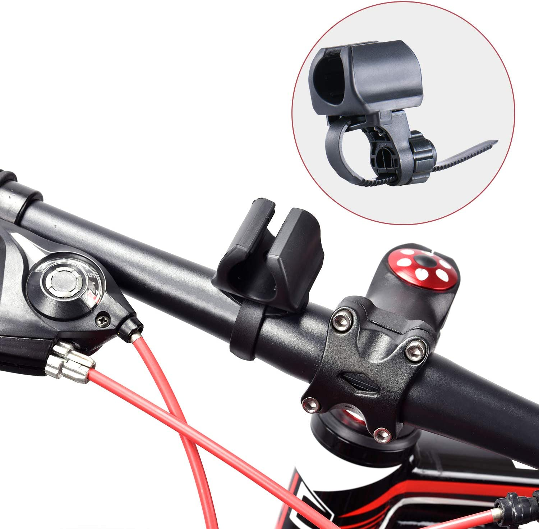 WUBEN Soporte de Linterna para Bicicleta, Ajustable, rápido de ...